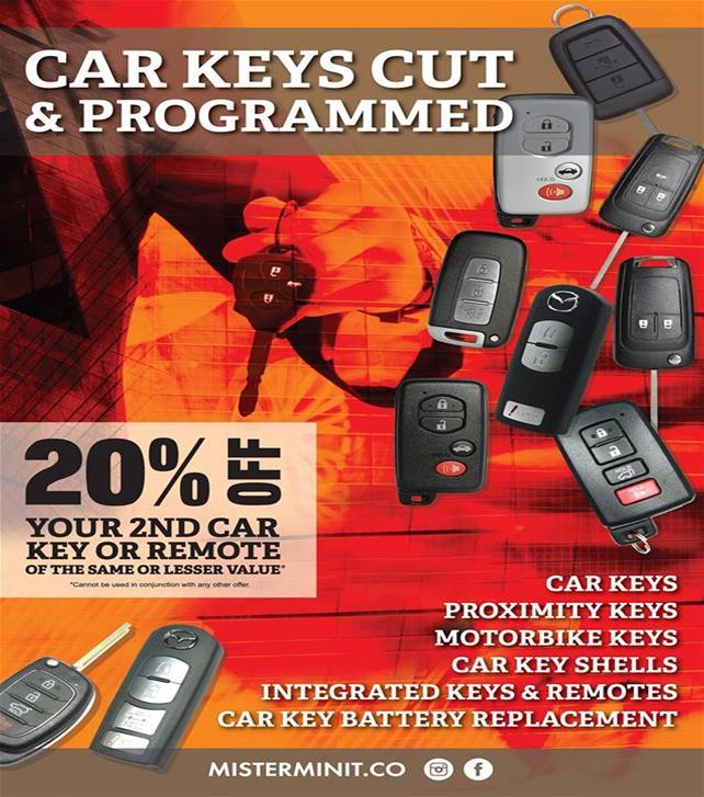 car key poster