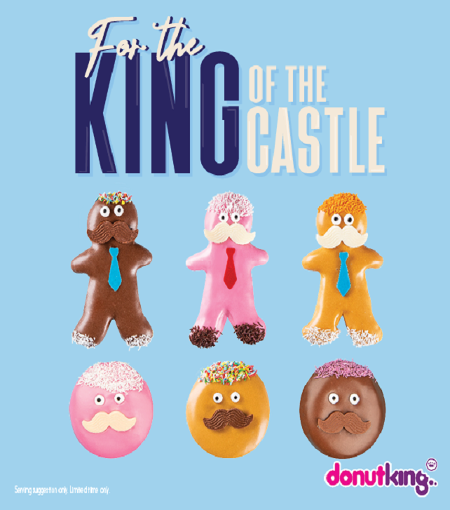 Donut King Father's Day 642x727