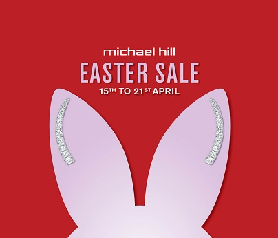 Michael Hill Easter Sale 404 x 346